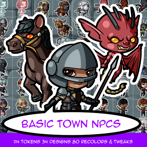 Basic Town Tokens
