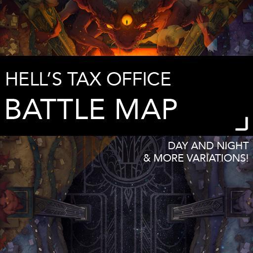 Hell's Tax Office Battlemaps