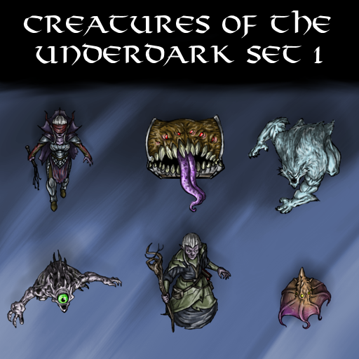 Creatures of the Underdark Set 1