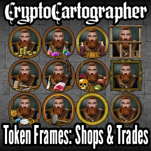 CC Token Frames: Shops and Trades