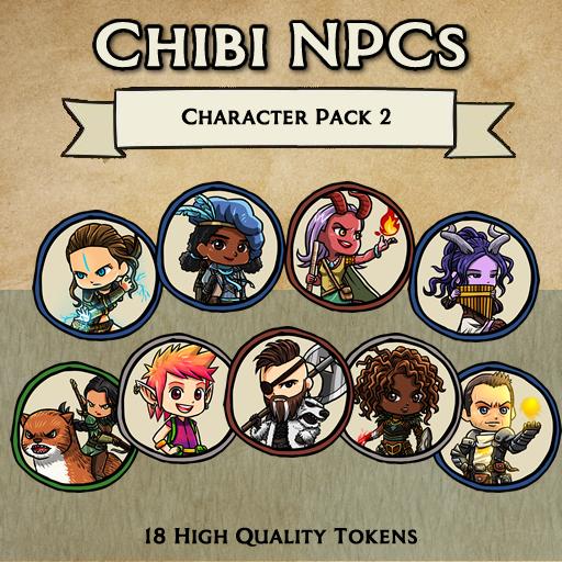 Chibi NPCs - Character Pack 2 [Tokens]