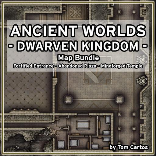 Ancient Worlds 02 Dwarven Kingdom Map Set
