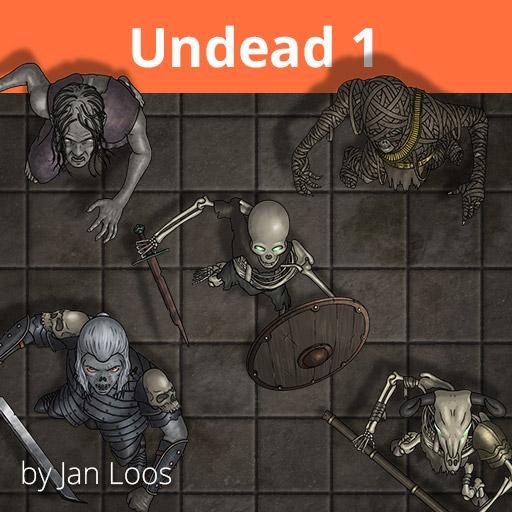 Jans Token Pack 18 - Undead 1