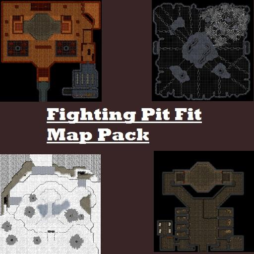 Fighting Pit Fit Map Pack