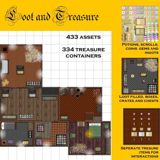 Loot and treasure