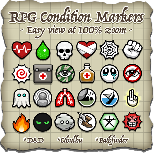 RPG Condition Markers