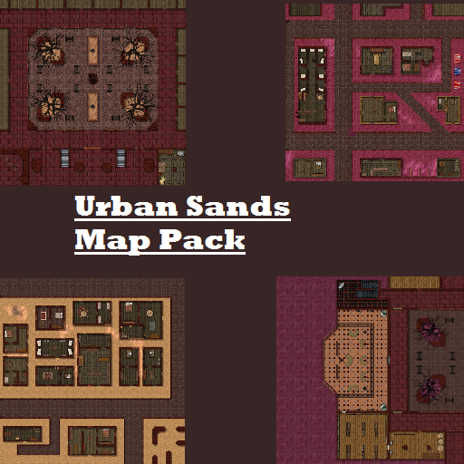 Urban Sands Map Pack