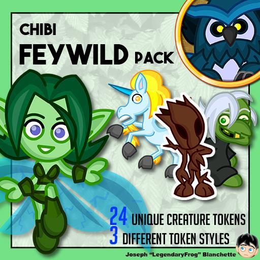 Chibi Feywild Pack
