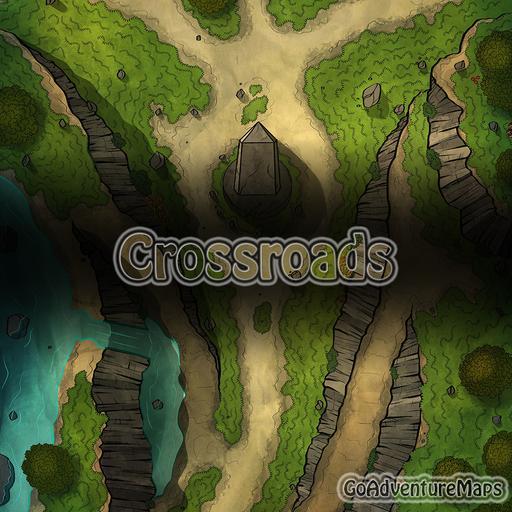 Crossroads 22x30