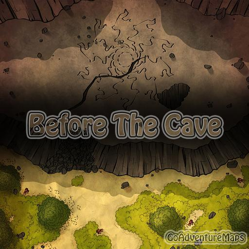 Before the Cave Battlemap