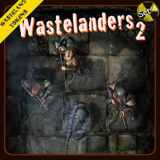 Wasteland Tokens Set 4, Wastelanders 2