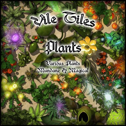 Vile Tiles: Plants