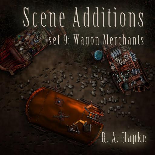 Scene Additions Set 9: Wagon Merchants