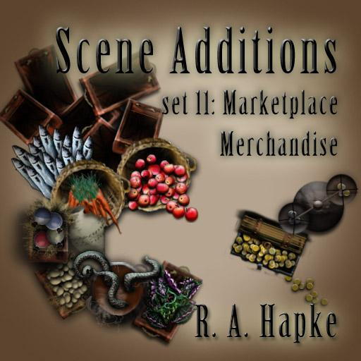 Scene Additions Set 11: Marketplace Merchandise