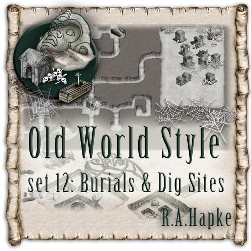 Old World Style Set 12: Burials & Dig Sites