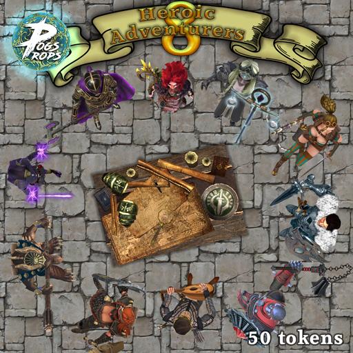 Hero Adventurers 8