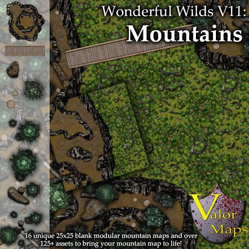 Wonderful Wilds V11: Mountain Cliffs
