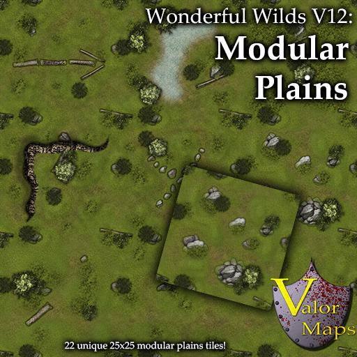 Wonderful Wilds V12: Modular Plains