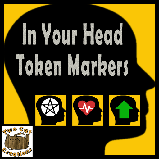 In Your Head Token Marker Set
