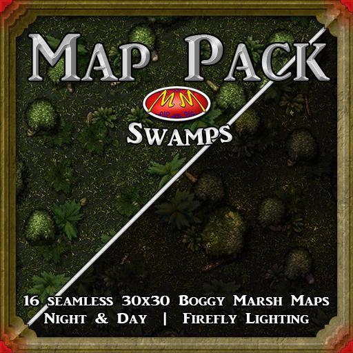 Map Pack V25 Swamp