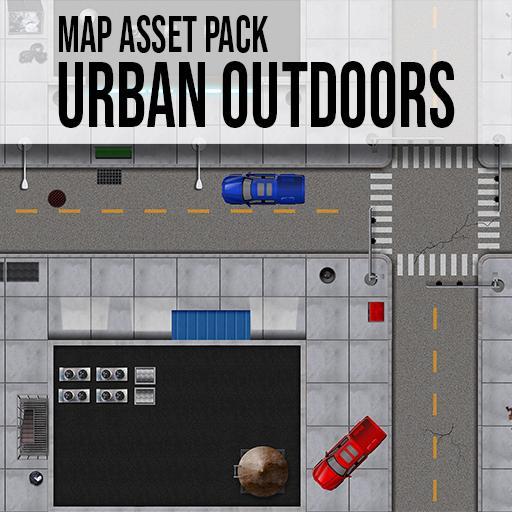 Urban Outdoors - Modern Map Asset Pack