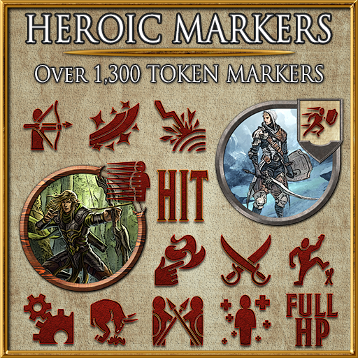 Heroic Markers: Red Dragon (Part 2)