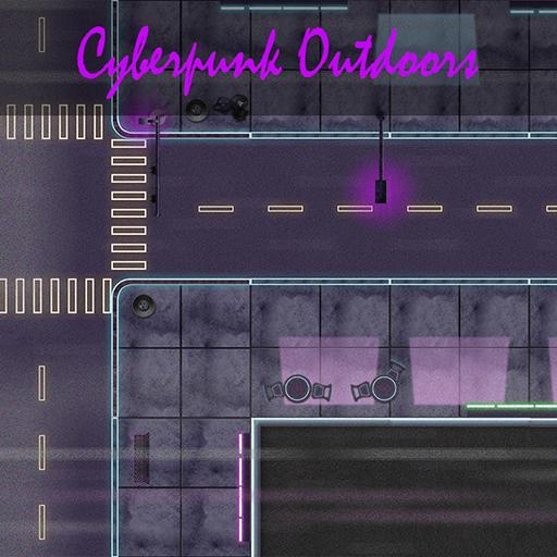 Cyberpunk Outdoors - Map Asset Pack
