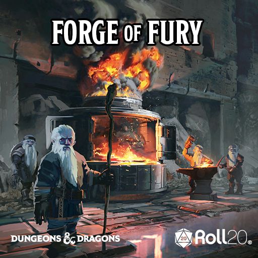 The Forge of Fury (Tales from the Yawning Portal)