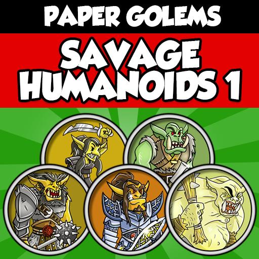 SAVAGE HUMANOIDS 1