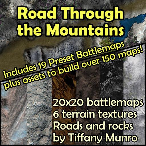 Road Through the Mountains Map Pack
