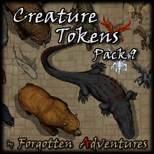 Creature Tokens - Pack 9