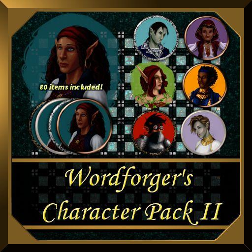 Wordforger's Character Pack II