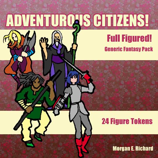 Adventurous Citizens: Full-Figured! Generic Fantasy