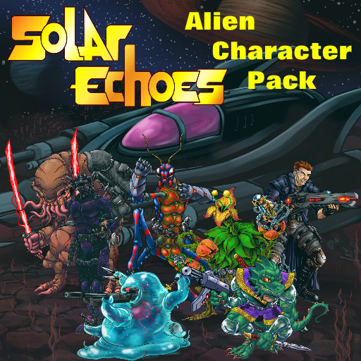 Solar Echoes Alien Character Pack