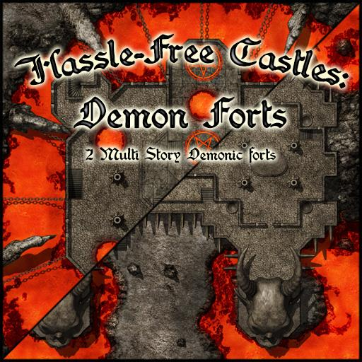 Hassle Free Castles: Demon Forts