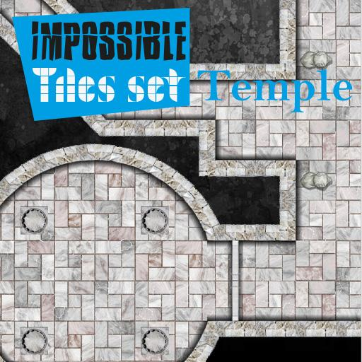 Impossible Tiles Set: Temple