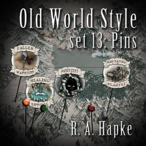 Old World Style Set 13: Pins