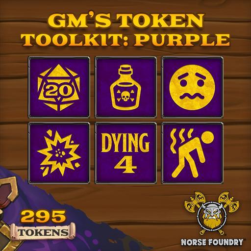 GM's Token Toolkit - Purple/Gold