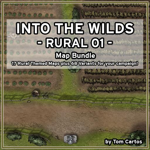 Into the Wilds Rural 01 Map Bundle