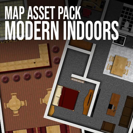 Modern Indoors - Map Asset Pack