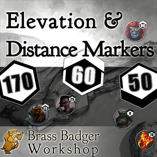 Elevation & Distance Markers