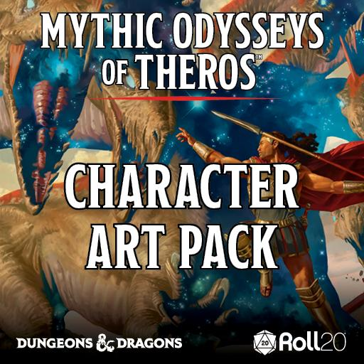 Mythic Odysseys of Theros Character Art Pack