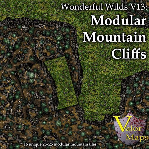 Wonderful Wilds V13: Modular Mountain Cliffs
