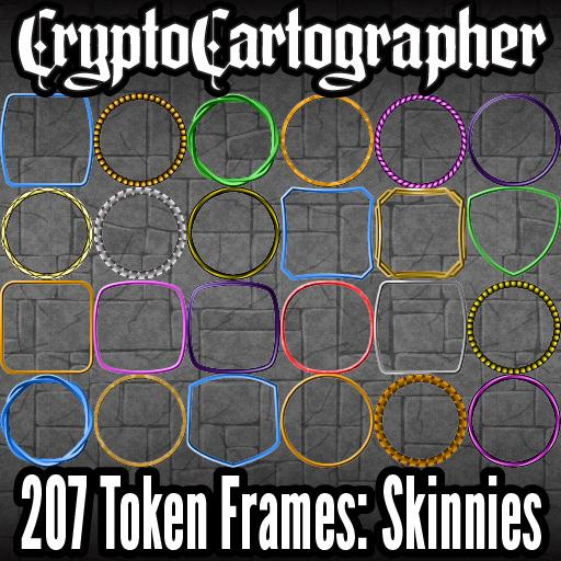 CC Token Frames 4: Skinnies