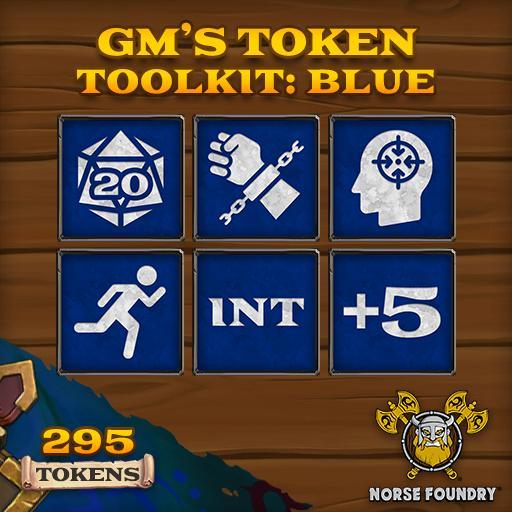 GM's Token Toolkit - Blue/White
