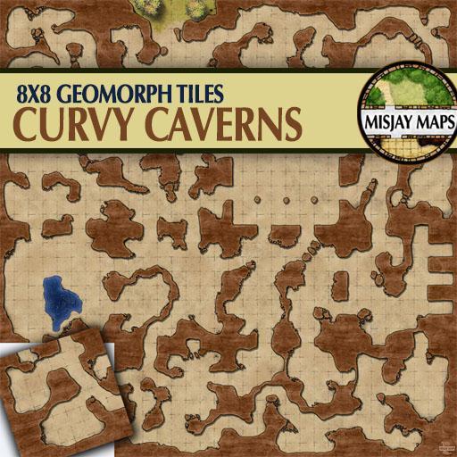 Curvy Cavern Tiles