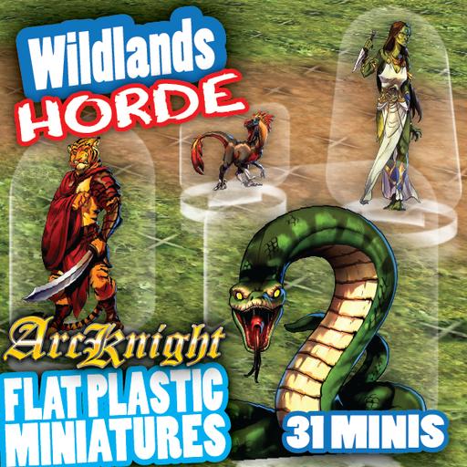 Arcknight Tokens - Wildlands Horde