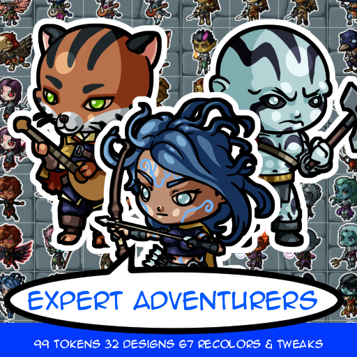 Expert Adventurer Tokens