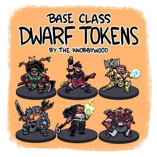 Base Class Dwarf Tokens