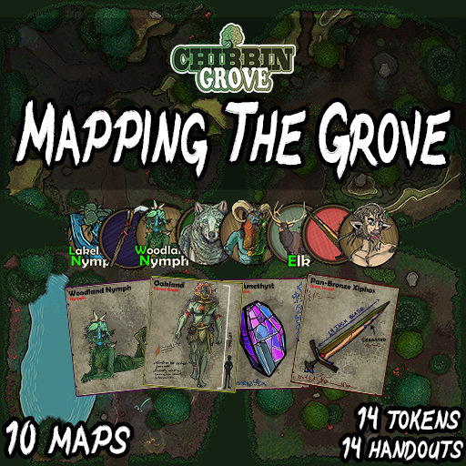 Chibbin Grove: Mapping The Grove